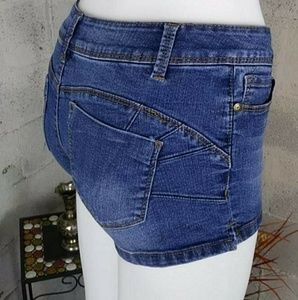 Blue Spice Pre-owned Jeans Shorts